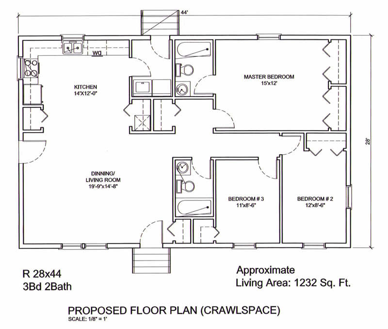 AmeriPanel Homes of South Carolina-Ranch Floor Plans