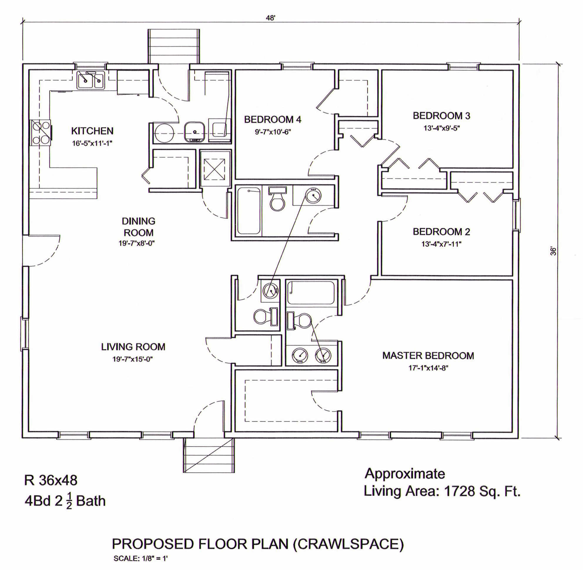 Ameripanel homes of south carolina ranch floor plans for 4 bedroom 2 5 bath ranch house plans