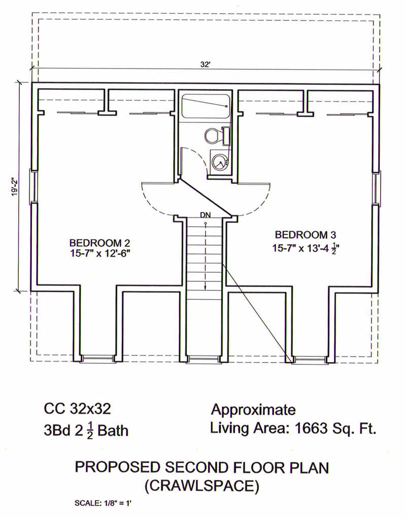Ameripanel homes of south carolina cape cod floor plans for 2nd floor house design