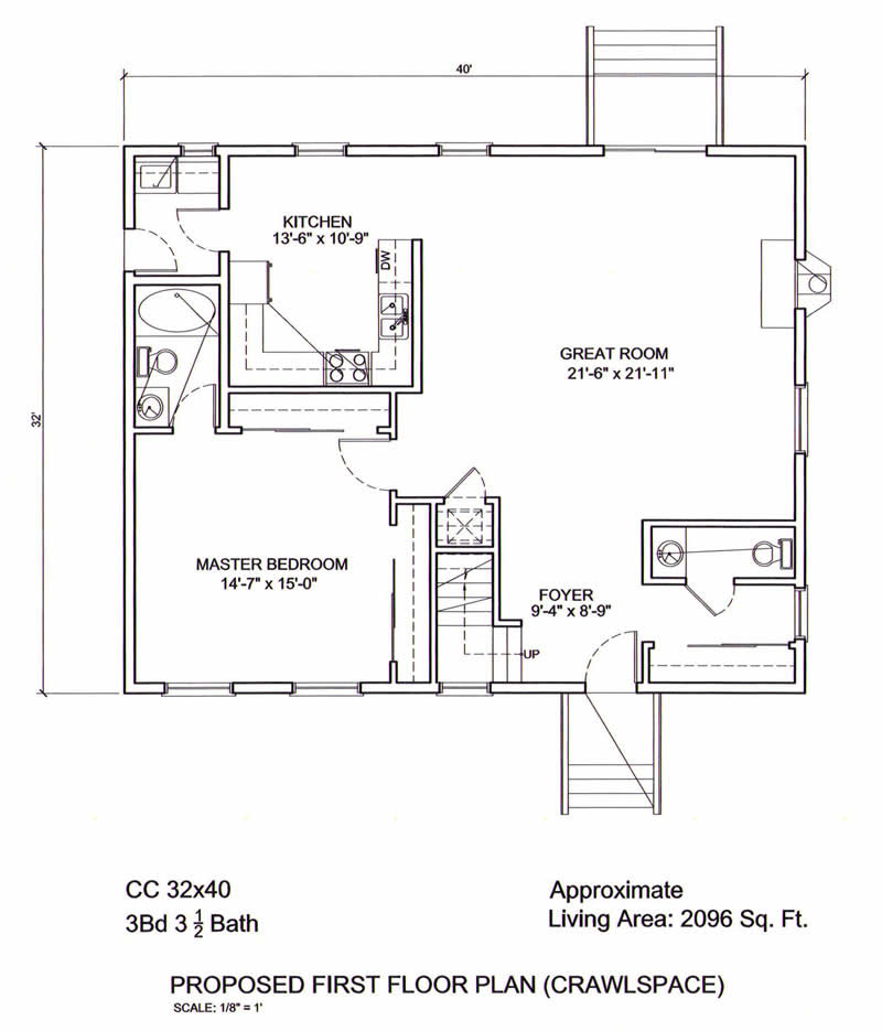 Ameripanel homes of south carolina cape cod style for Cape cod style homes floor plans