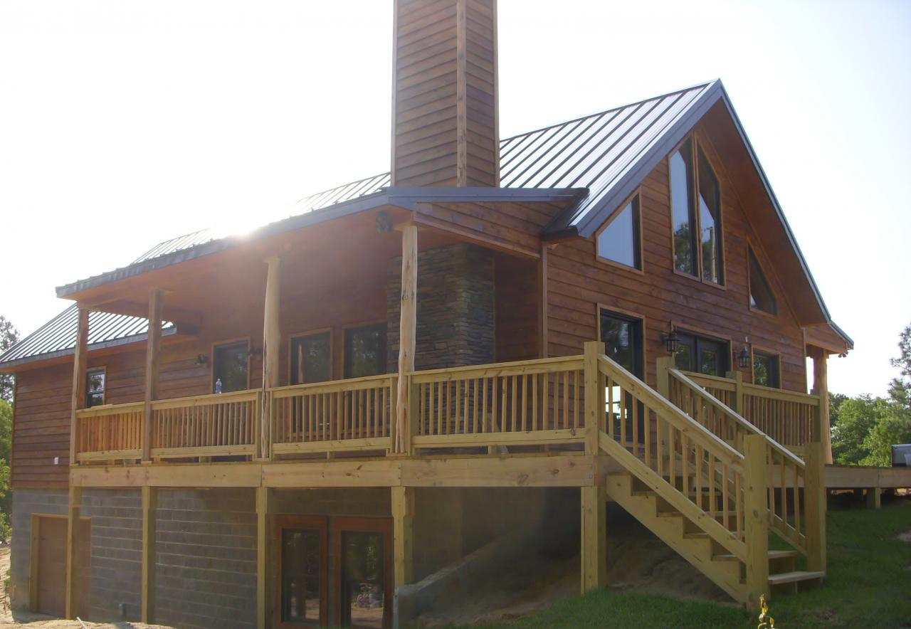 Ameripanel homes of south carolina cabin style projects for Sip kits